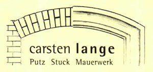 Carsten Lange, Putz, Stuck & Mauerwerk